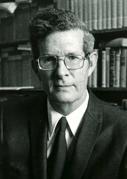 James D. Bales, faculty picture from the Brackett Library at Harding University, available on Flickr
